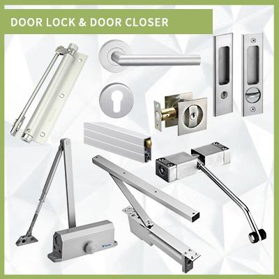 DOOR LOCK & DOOR CLOSER