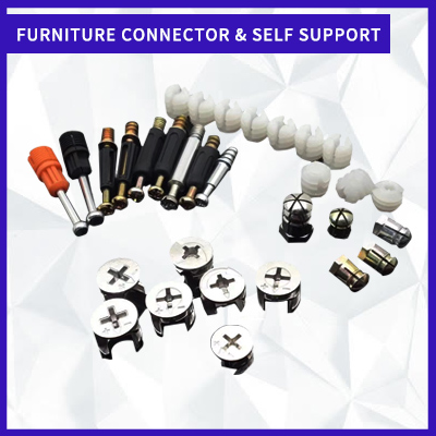 FURNITURE CONNECTOR & SELF SUPPORT
